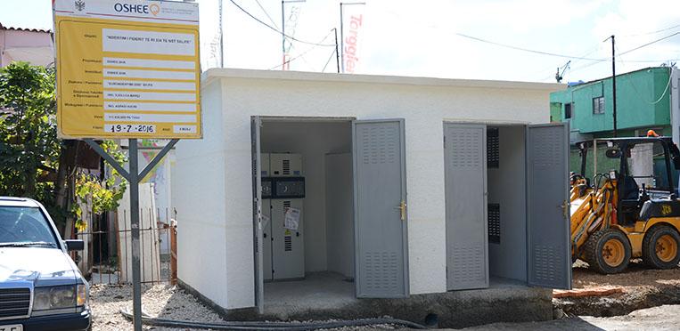 Blerje transformator fuqie për kabinat elektrike
