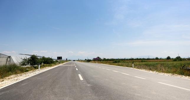 Manutenzione ordinaria dell'asse stradale Berat – Çorovodë 49.3 km