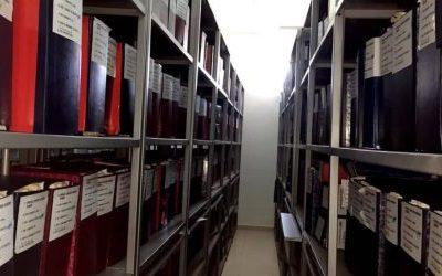 Ricostruzione dell'Archivio di Stato del Sistema Giudiziario