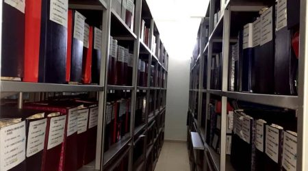 Reconstruction of the State Archive of the Judicial System